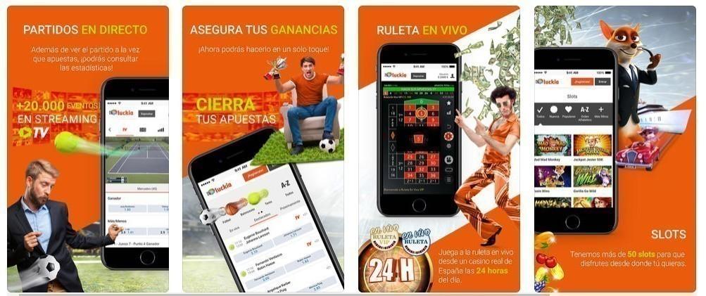 app Luckia.es