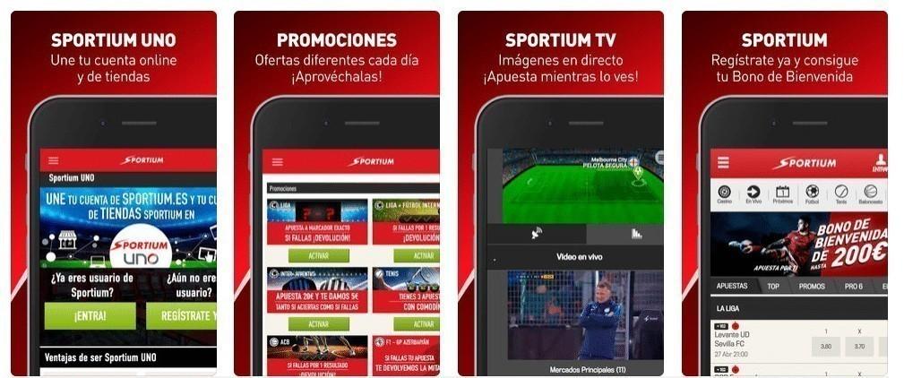 app sportium.es